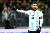 'Tôi khó chịu với thành tích của Messi'