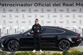Cả đội Real Madrid rạng rỡ nhận siêu xe Audi miễn phí