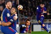 Messi vẽ siêu phẩm, Barcelona ngược dòng khó tin