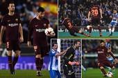 Messi đá hỏng phạt đền, Barcelona ôm hận
