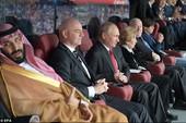Tổng thống Putin làm gián đoạn cuộc họp báo của HLV tuyển Nga