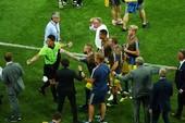 Tuyển Đức vào phòng thay đồ xin lỗi Thụy Điển