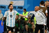 HLV Sampaoli trải lòng về Messi trước giới truyền thông