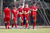 Olympic Việt Nam bí mật luyện penalty 'đấu' Nhật Bản
