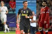 Đề cử danh hiệu xuất sắc nhất châu Âu vắng bóng Messi