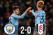 Man City-Fulham (2-0): Sao trẻ rực sáng