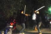 10 thanh niên dàn trận đánh nhau ở quận 9