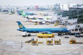 Các sân bay khẩn cấp ứng phó siêu bão Mangkhut