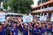 20.000 lượt sinh viên tình nguyện 'Tiếp sức mùa thi'