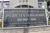 Học quá kém, 71 sinh viên ĐH Luật bị buộc thôi học