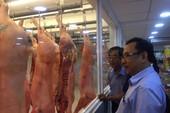 Thịt heo Vissan tiến ra... bên hông chợ Bà Chiểu