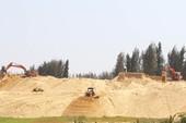 Ngừng thi công dự án phá rừng phòng hộ làm sân golf
