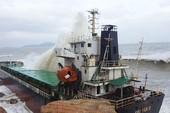 Thanh thải 2 tàu nước ngoài chìm trên biển Quy Nhơn
