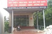 Phú Quốc: Nhiều văn phòng bất động sản vắng tanh