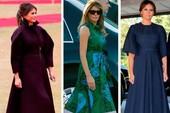'Bộ sưu tập thời trang' của bà Trump khi công du châu Á