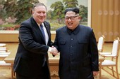 Ngoại trưởng Mỹ Mike Pompeo đến Triều Tiên gặp ông Kim Jong-un