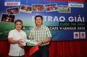 'Tranh chấp trên không' đoạt giải cao nhất 'sắc màu V-League'