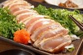 Suýt 'chìm trong bóng tối' do ăn phải giun trong sushi gà