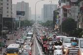 Cho phép Hà Nội lập đề án thu phí xe vào nội đô