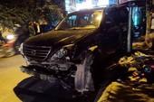 CSGT kể lại lúc 'xế điên' Lexus tông gục hàng loạt xe