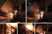 Cháy nhà lúc đang ngủ, thanh niên nhảy khỏi tầng 2 thoát thân