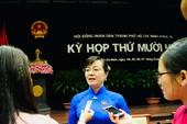 Bà Nguyễn Thị Quyết Tâm nói về kết quả lấy phiếu tín nhiệm