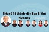 Infographic: Chân dung 14 thành viên Ban Bí thư hiện nay