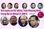Đại án Đông Á 3.600 tỉ: Mức án Vũ 'nhôm', Trần Phương Bình...