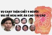 Vụ Hoàng Công Lương: VKS đề nghị mức án cho 7 bị cáo
