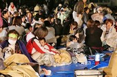 44.400 người sơ tán do động đất mạnh ở Nhật
