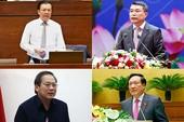 Quốc hội sẽ chất vấn 4 tư lệnh ngành