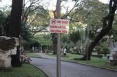 'Lệnh cấm' đáng hoan nghênh ở Công viên Tao Đàn