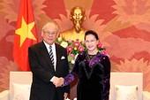 Chủ tịch Quốc hội tiếp cố vấn đặc biệt Tsutomu Takebe