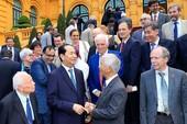 Chủ tịch nước Trần Đại Quang gặp mặt các nhà khoa học quốc tế