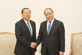 Thủ tướng Nguyễn Xuân Phúc tiếp bộ trưởng Kế hoạch Campuchia