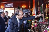 Thủ tướng khánh thành Nhà tưởng niệm Chủ tịch Hồ Chí Minh