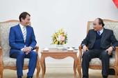 Thủ tướng tiếp chủ tịch Liên đoàn Chế biến chế tạo Singapore