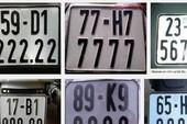 Chuẩn bị đấu giá biển số xe ô tô