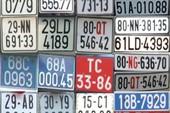 Bộ GTVT cân nhắc phân loại màu biển số ô tô