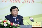 Tổng thư ký QH nói gì vụ ĐB Lưu Bình Nhưỡng gây 'dậy sóng'?