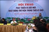 Huyện kiên quyết ngăn cán bộ thư viện đọc tham luận tại Hà Nội