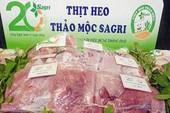 Sẽ có hơn 50 tấn thịt heo thảo mộc Sagri phục vụ Tết