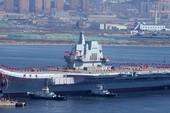 Trung Quốc lo tàu sân bay hóa 'sắt vụn' vì sứa biển