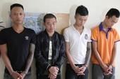 Nhóm thanh niên dùng trứng thối trộn dầu nhớt đòi nợ ở TP Vinh