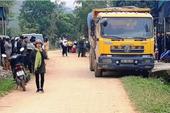 Bé 3 tuổi bị xe tải tông tử vong trước cổng nhà