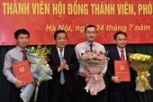 2 trưởng ban lên làm sếp to của VAMC