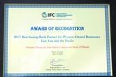 VPBank nhận giải thưởng của Tổ chức Tài chính Quốc tế