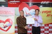VietJet: Chuyến bay cứu trợ nạn nhân động đất đã tới Indonesia