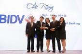 """BIDV đạt giải """"Ngân hàng Bán lẻ Tiêu biểu"""" 3 năm liên tiếp"""
