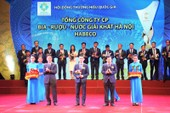 Bia Hà Nội đạt Thương hiệu quốc gia lần thứ 4